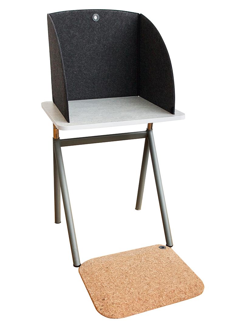 StandUp Easy Cork ergonomisk ståmatta med ytskikt av kork