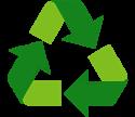 PET-återvinning i våra golv- och mattskydd.