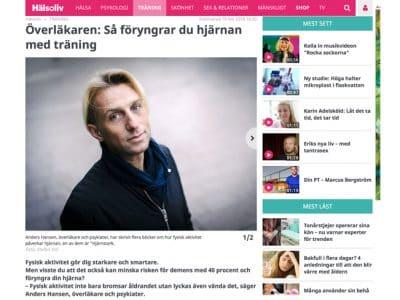 Matting Office Wellness - Så föryngrar du hjärnan med träning, Anders Hansen