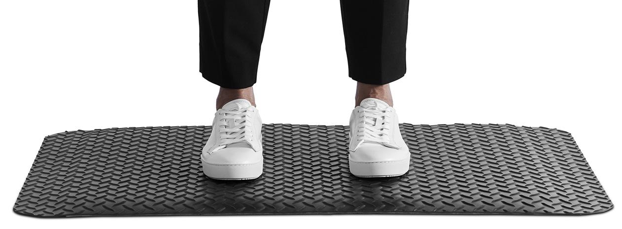 Matting Office Wellness - arbetsplatsmatta Yoga Deck Zedlan. Ståmatta för kontor.