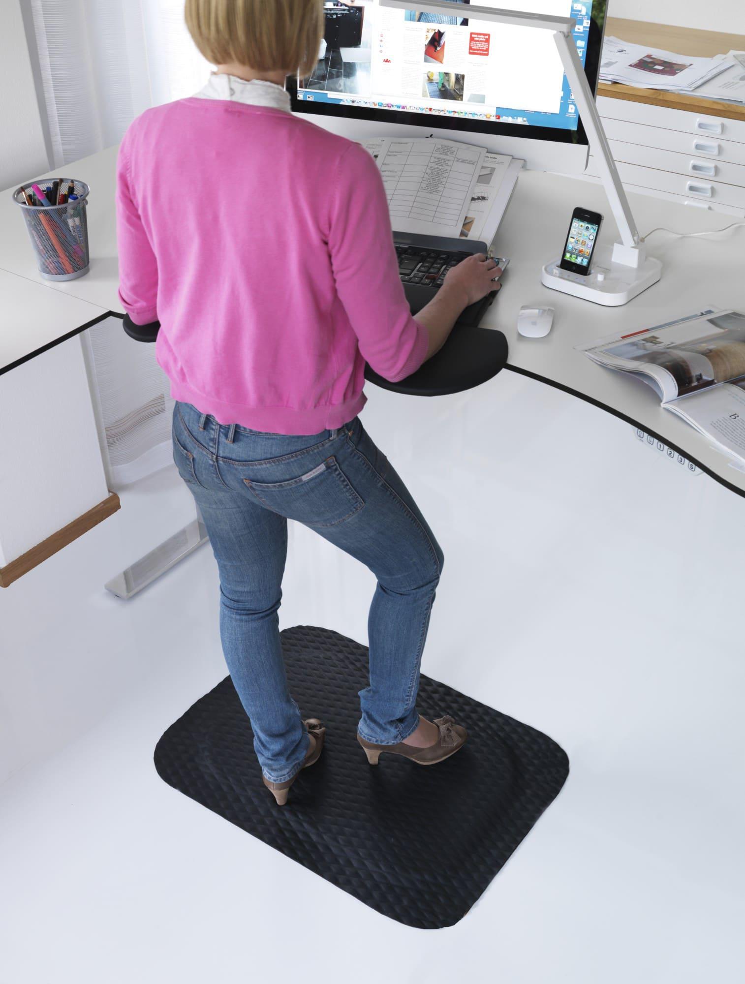 Arbetsplatsmattor Kontor Yoga Fashion Nitril 381970