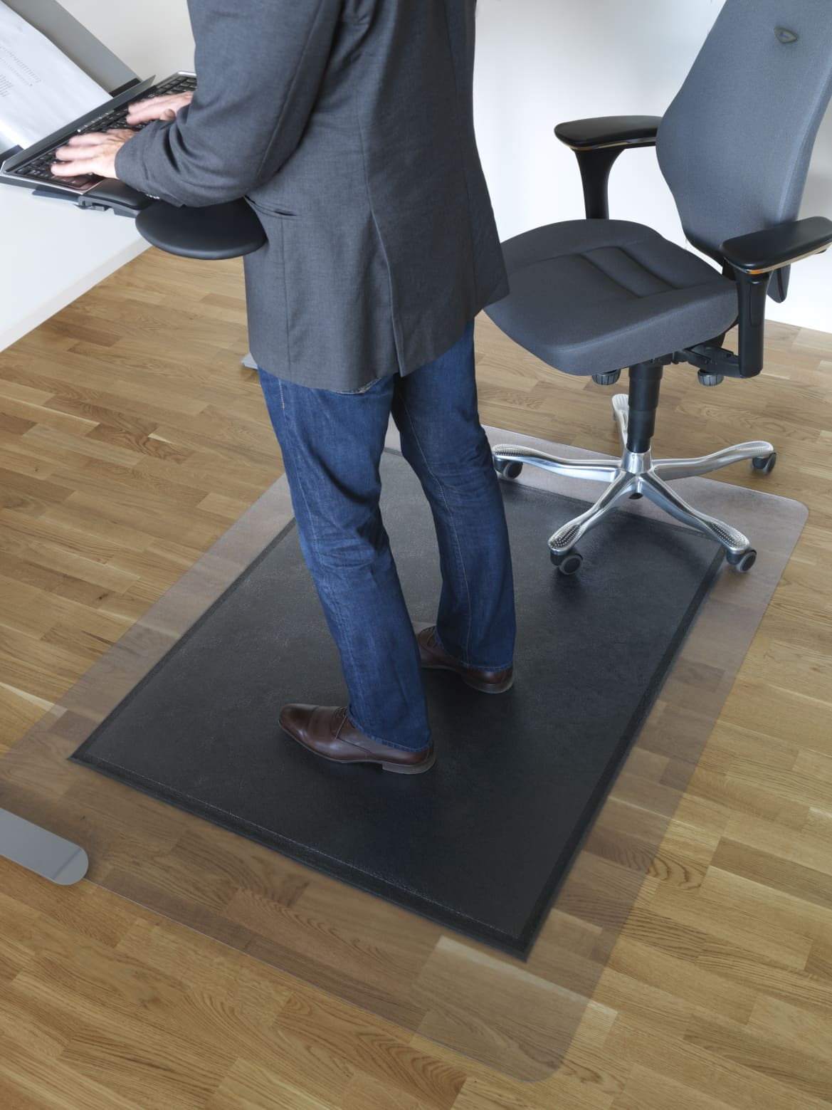 Arbetsplatsmattor Kontor Yoga Sitt och Stå 521000