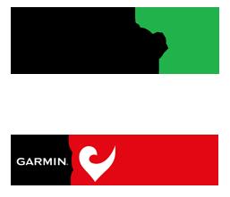 Logotyper för Børneulykkesfonden og Garmin Challenge
