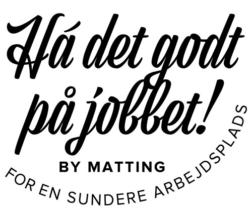 Matting Office Wellness - Ha det godt på jobbet!