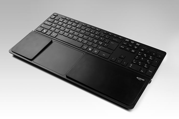 Matting Office Wellness - Jobmate Touch med Jobmate Slim Keyboard, svart