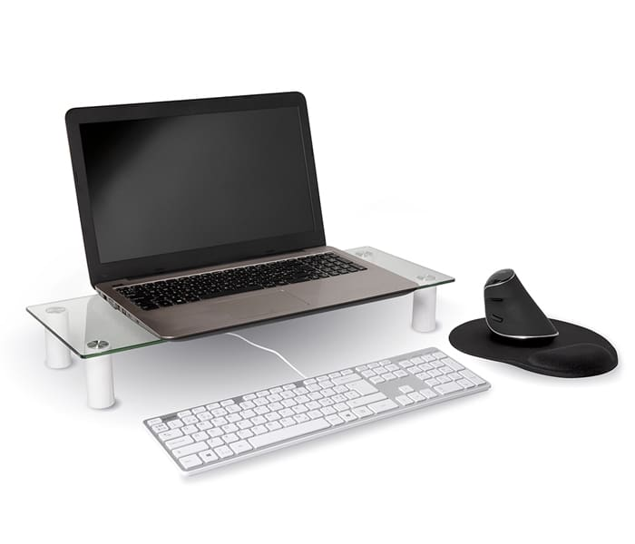 Jobmate Monitor Stand med laptop