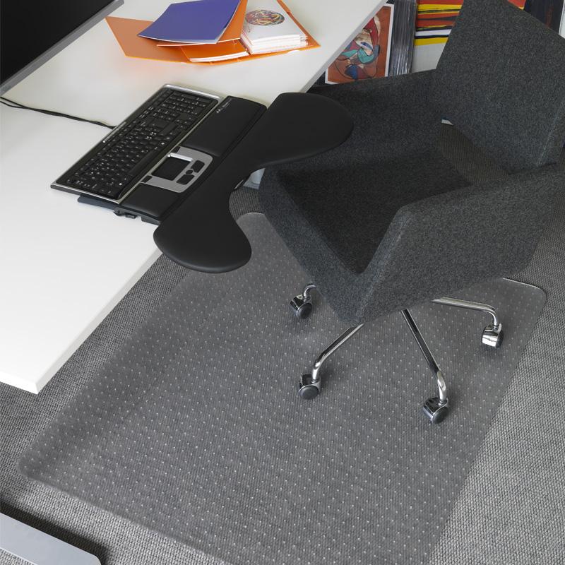 Matting Office Wellness - Mattskydd som skyddar mattan och låter kontorsstolen rulla lätt.