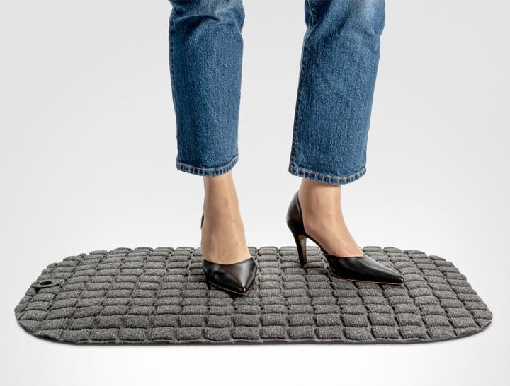 Office Wellness, StandUp Brick Free. En PVC-fri ståmatta.