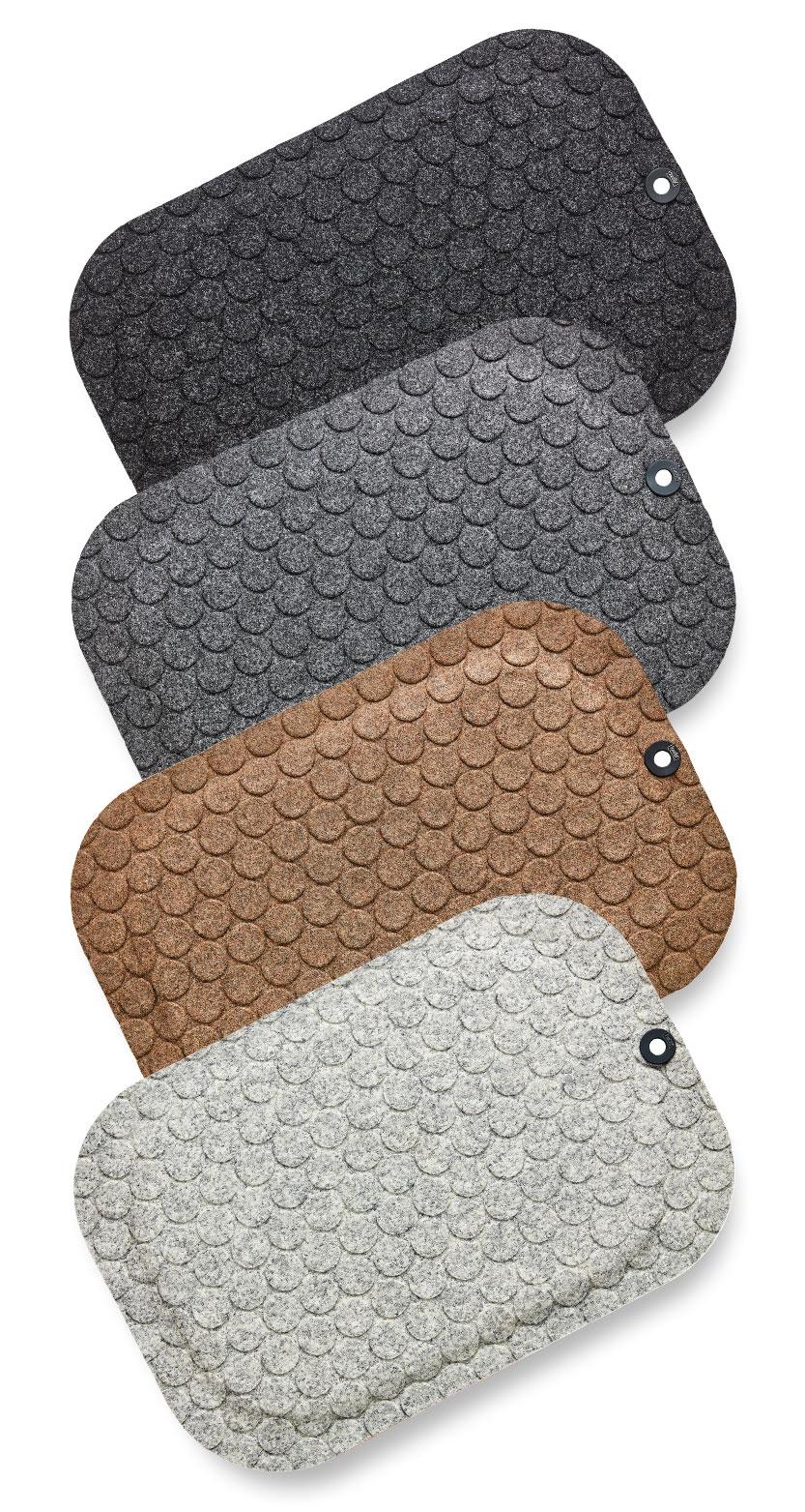 StandUp Circle ståmatta, arbetsplatsmatta. I färgerna Black, Grey, Camel och White Ash.